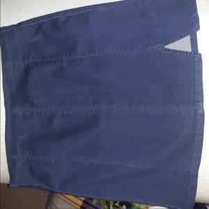 Denim  mini Skirt free people
